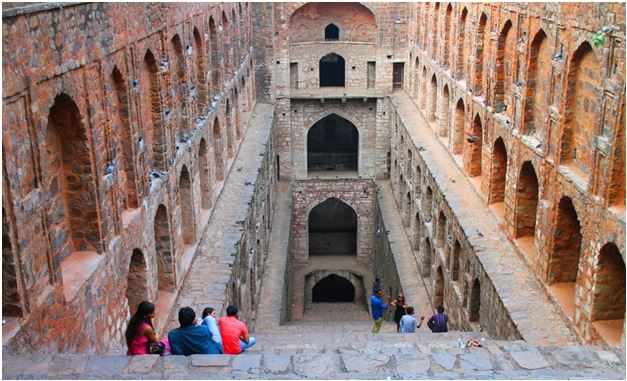 Agrasen ki Baoli - The Backpackers Group - Stepwells in India