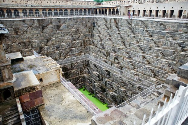 Chand Baori - The Backpackers Group - Stepwells in India