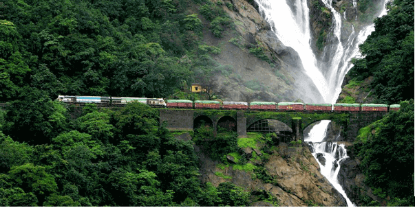 dudhsagar - backpackers group - Indian Railway