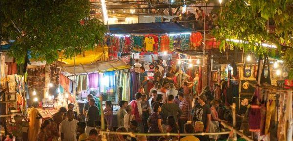 goa-flea-market-backpacker-group - Indian Flea Market