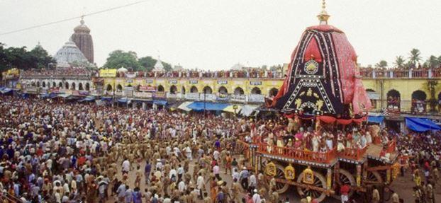 Jagannath Rath Yatra - Odisha - Backpackers group