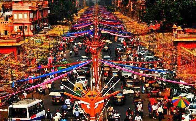johari-bazaar-backpackers-group - Indian Flea Market