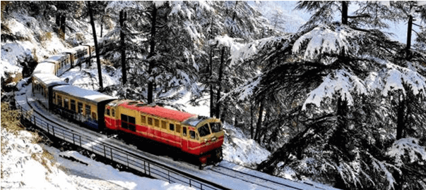 kalka shimla rail backpackers group - Indian Railway