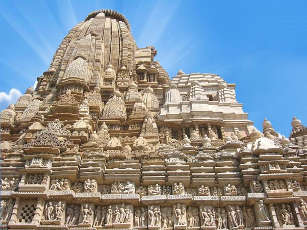 khajurao temple - The backpackers group - Heritage Site In India