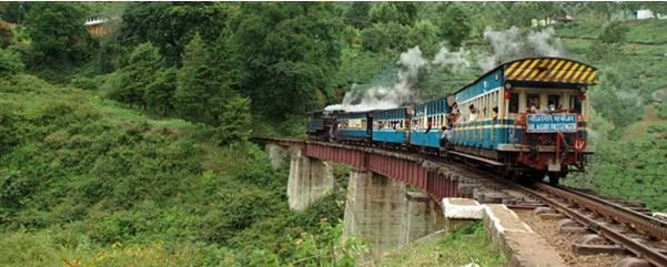 mountain railway of india - The backpackers group - Heritage Site In India