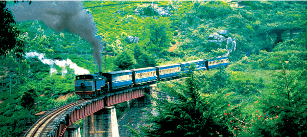 nilgiri railways - backpackers group 2 Indian Railway