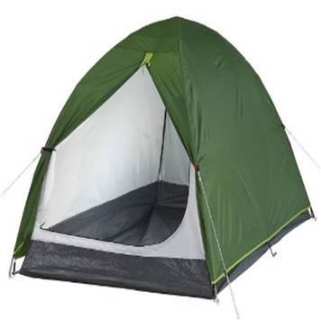 quechua-arpenaz-t2-camping-tent-green