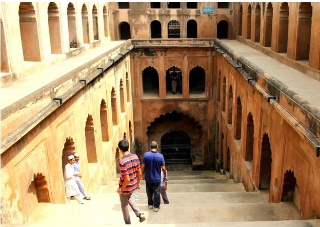 Shahi Baoli - The Backpackers Group - Stepwells in India