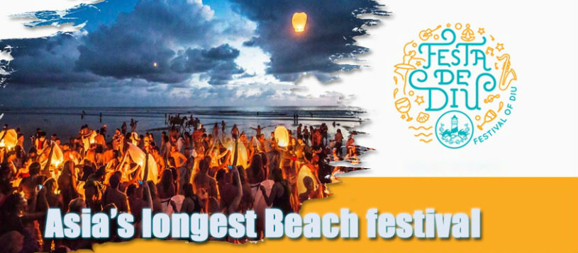 Diu Festival - festa de diu - longest beach festival of asia - the backpackers group