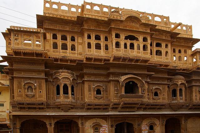 merchant haveli - jaisalmer the golden city of rajasthan the backpackers group