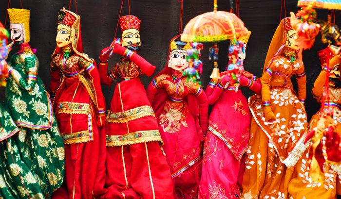 Puppet Theater - Jaisalmer the golden city of Rajasthan - The Backpackers Group