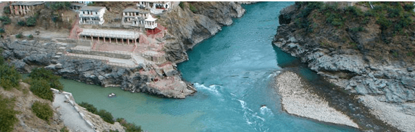 Devprayag - River Confluences in India - The Backpackers group