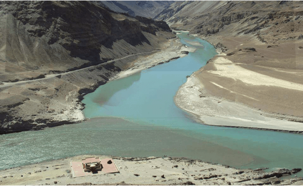 River Zanskar and River Indus - River Confluences in India - The Backpackers group