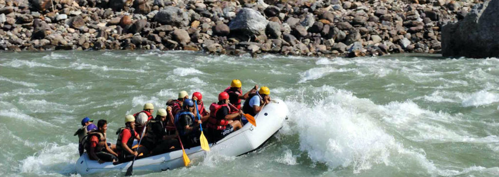 Rafting in Rishikesh - Rishikesh A Blissful Abode - The Backpackers Group