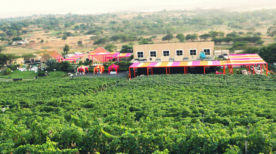 Grover Zampa - New Weekend Gateway - The Backpackers Group - Vineyards are now new weekend gateways in India
