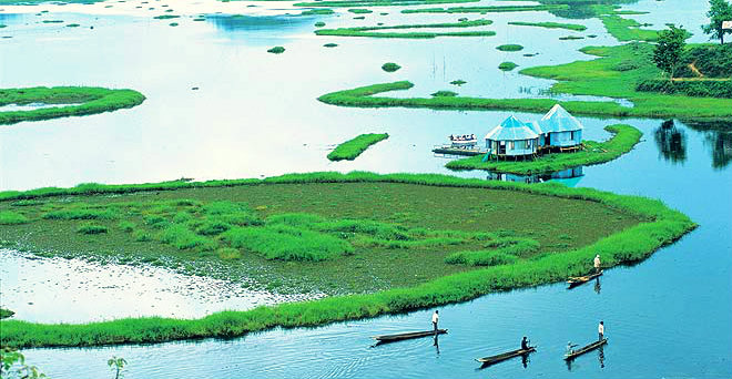 Loktak Lake Manipur - North East India - Underrated travel destinations - The Backpackers Group