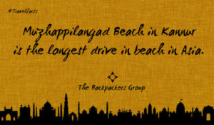 Muzhappilangad Beach In Kannur - India Travel Facts - The Backpackers Group