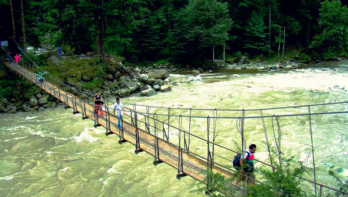 Parvati River - Kasol - a hub for the bold traveller - Himachal Pradesh - The Backpackers Group