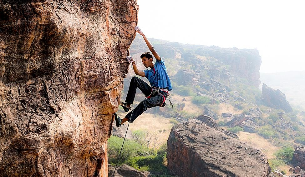 Mountain Climbling - Madhya Pradesh - Destinations for adventure lovers in India - The Backpackers Group
