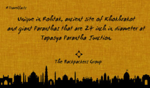 Tapasya Paratha Junction - Rohtak - Travel Facts Of India - The Backpackers Group