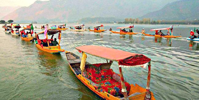 Vibrant Shikara Festival - Srinagar - The Backpackers Group