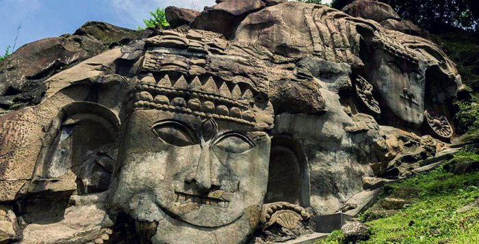 Unakoti - Abode Of God - Tripura - North East India - The Backpackers Group - Cover