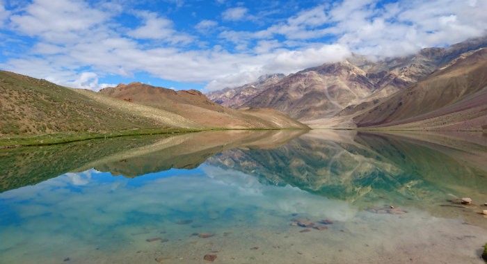 Chandratal Lake - Himachal's Best Kept Secret - Himachal Pradesh - Spiti Valley - Lake View - The Backpackers Group