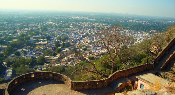 Chittorgarh Fort - Valour Of Rajputs - View From Vijay Stambh - The Backpackers Group