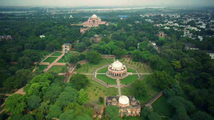 Charbagh - Isa Khan Tomb - Humayun's Tomb - The Backpackers Group - V2