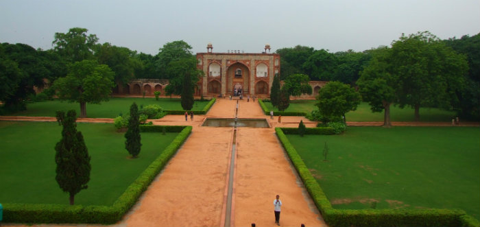 Charbagh - Humayun's Tomb - Gardens of Paradise - The Backpackers Group - V2