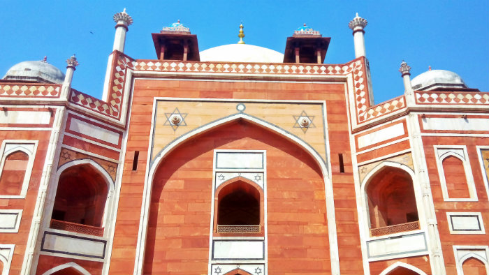 Humayun's Tomb - Dome Architecture - Delhi - The Backpackers Group