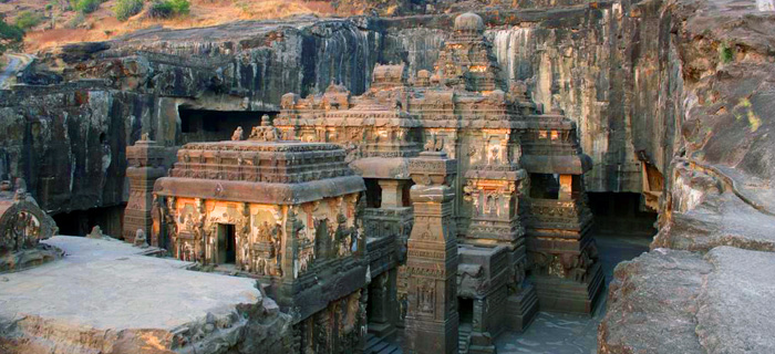 Kailasa Temple - Ellora Caves - Maharashtra - The Backpackers Group