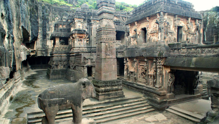 Kailasa Temple - Ellora Caves - Maharashtra Travel - The Backpackers Group