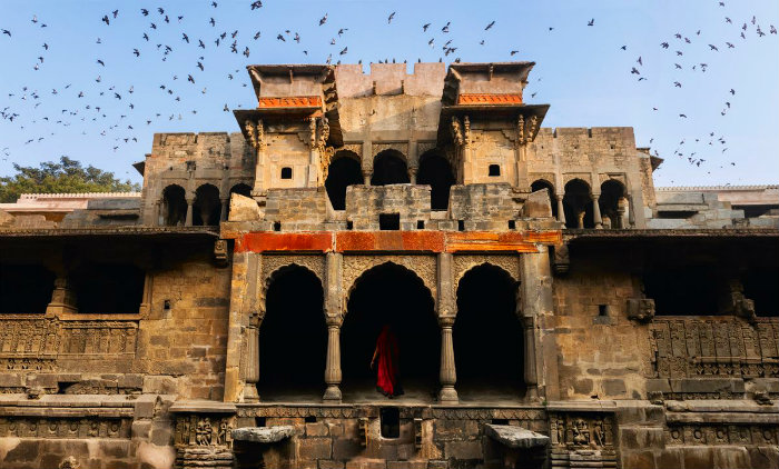 Chand Baori Stepwell - A Visual Maze - Jaipur - The Backpackers Group - Architectural Marvel