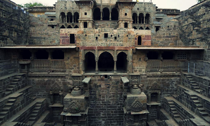 Chand Baori Stepwell - A Visual Maze - Jaipur - The Backpackers Group - Mystery