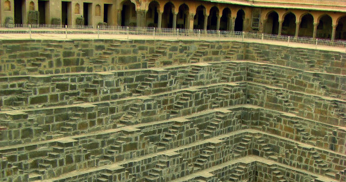 Chand Baori Stepwell - A Visual Maze - Jaipur - The Backpackers Group - Travel India