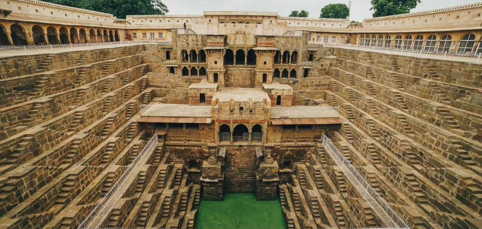 Chand Baori Stepwell - A Visual Maze - Jaipur - The Backpackers Group