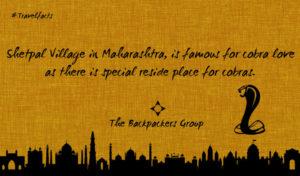 Cobra Love - Maharashtra - India Travel Facts - The Backpackers Group