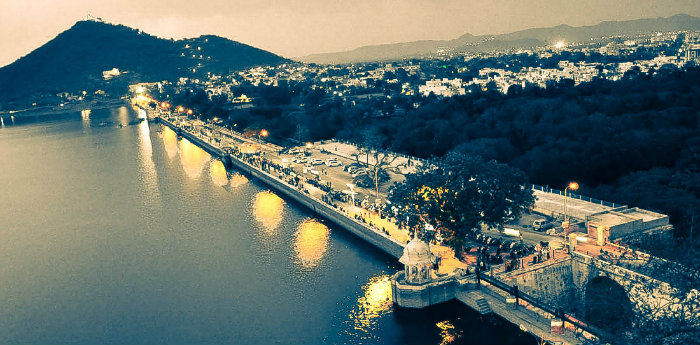 Fatehsagar Lake - Udaipur - Legend of Pichola Lake - The Backpackers Group - V1