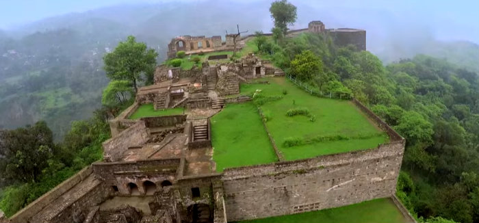 Ruins Of Kangra Fort - Sovereignty Of Katoch Dynasty - Himachal Pradesh - The Backpackers Group
