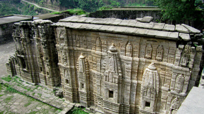 Temple Inside Kangra Fort - Kangra Fort - Sovereignty Of Katoch Dynasty - Himachal Pradesh - The Backpackers Group - V1