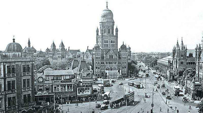 Victoria Terminus Bombay in 1950 - Mumbai - Chronicles Of Seven Island - The Backpackers Group - V1