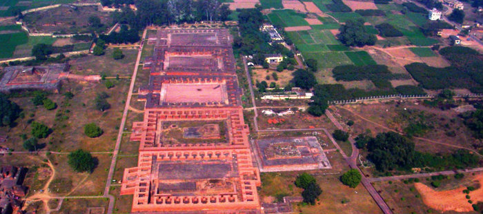 Nalanda University - Marvel of Ancient India - Study Center - Bihar - The Backpackers Group