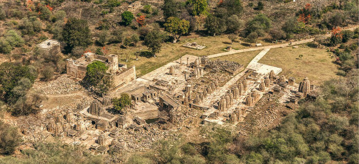 Bateshwar Temples - The Temple Town - Madhya Pradesh - Aerial View - The Backpackers Group