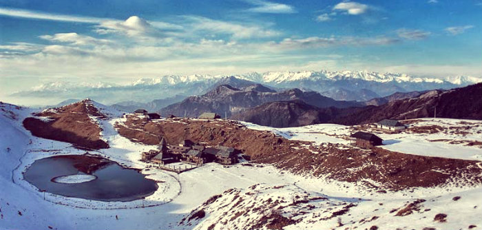Parashar Lake - Mandi - Himachal Pradesh - Winter trek - The Backpackers Group