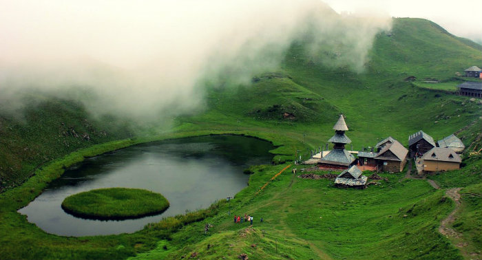 Parashar Lake - Mandi - Himachal Pradesh - The Backpackers Group