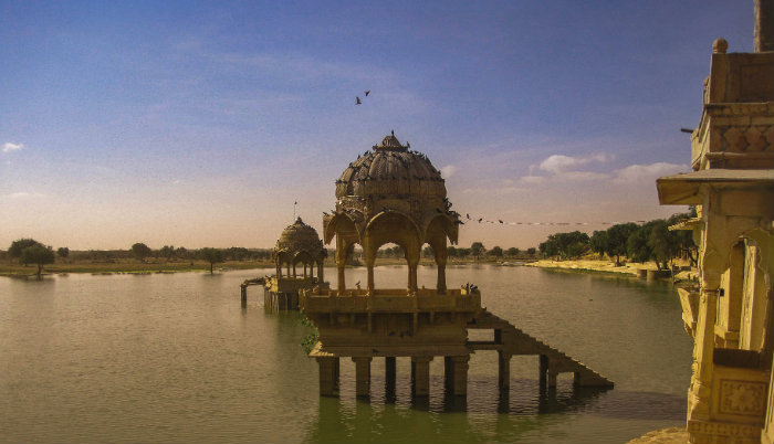 Jaisalmer Lake - Jaisalmer - Rajasthan - The Backpackers Group