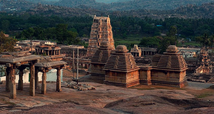 Hampi Fesival - Karnataka - Virupaksha Temple And Ruins - The Backpackers Group