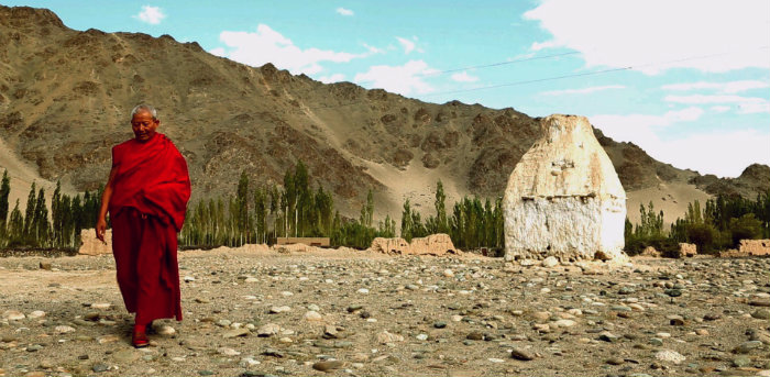 Nyarma University - Ladakh's lost treasure - Leh Ladakh Stupa - The Backpackers Group