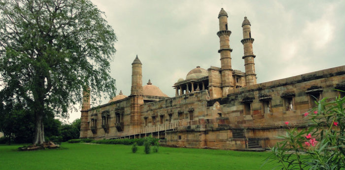 Jami Masjid - Champaner - An Ode To Lost Glory - Gujarat Travel - The Backpackers Group